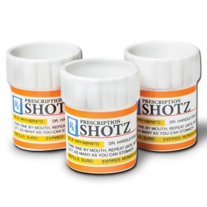 Shotz Prescription Shot Glass Set