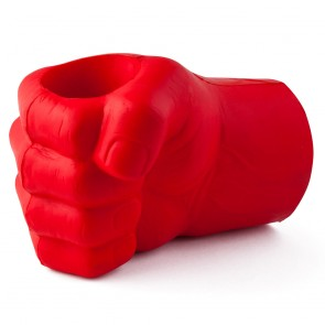 Red Giant Fist Glove Coozie