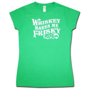 Whiskey Makes Me Friskey Irish Babydoll Shirt