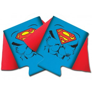 Superman Caped Collapsible Koozie Set