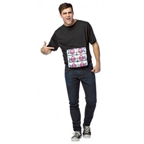 """6 Pack"" Costume T Shirt"