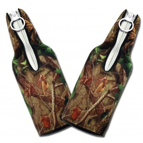 Real Tree Camo Bottle Suit Coozie Set