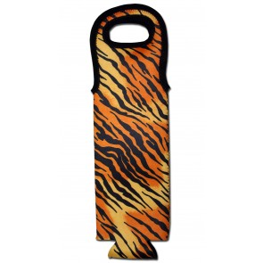 Wine Bottle Tote Tiger Cooler Bag