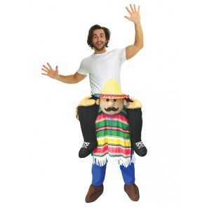 Mexican Amigo Piggyback Costume