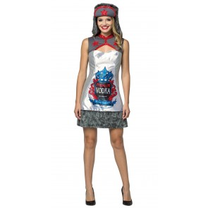 Premium Vodka Dress Women's Costume