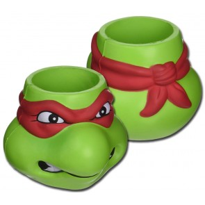 TMNT Rafael Foam Head Can Coozie Set