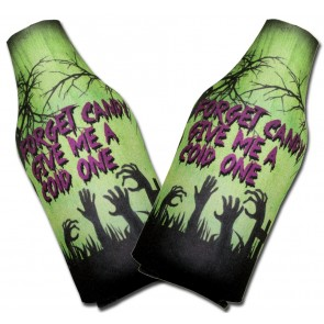 Halloween Cold One Bottle Coozies