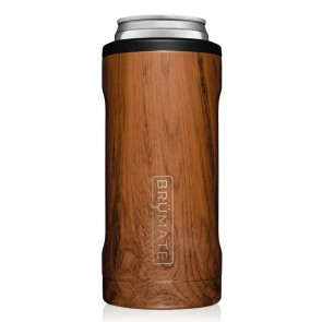 BruMate Hopsulator Slim Walnut Can Coozie