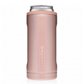 BruMate Hopsulator Slim Rose Gold Can Coozie