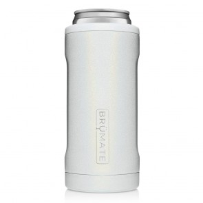 BruMate Hopsulator Slim White Can Coozie