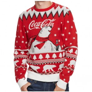 Coca Cola Polar Bear Ugly Christmas Sweater