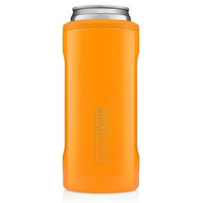 BruMate Hopsulator Slim Orange Can Coozie