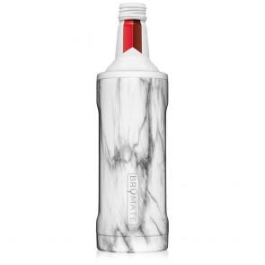 BruMate Twist Carrara 16oz Alum Bottle Coozie