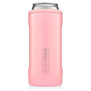 BruMate Hopsulator Slim Blush Can Coozie
