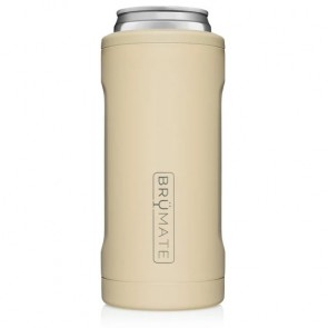BruMate Hopsulator Slim Desert Tan Can Coozie