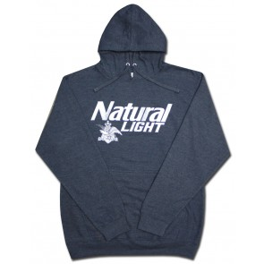 Natural Light Navy Hooded Sweatshirt