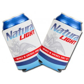 Natural Light Collapsible Beer Coozie Set