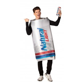 Natural Light Beer Can Costume