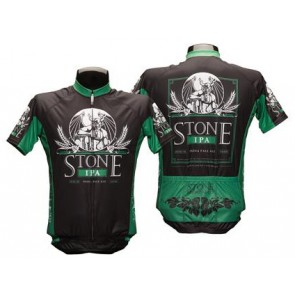 Stone IPA Green Cycling Jersey