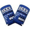 Beer Vitamins Collapsible Coozie Set