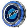 Blue Moon Neon Clock
