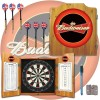 Budweiser Dartboard and Cabinet Set