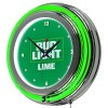 "Bud Light Lime Neon Clock (14"")"