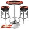 Budweiser Bar Stools & Table Set