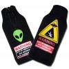 Alien Abduction Bottle Suit Koozie Set