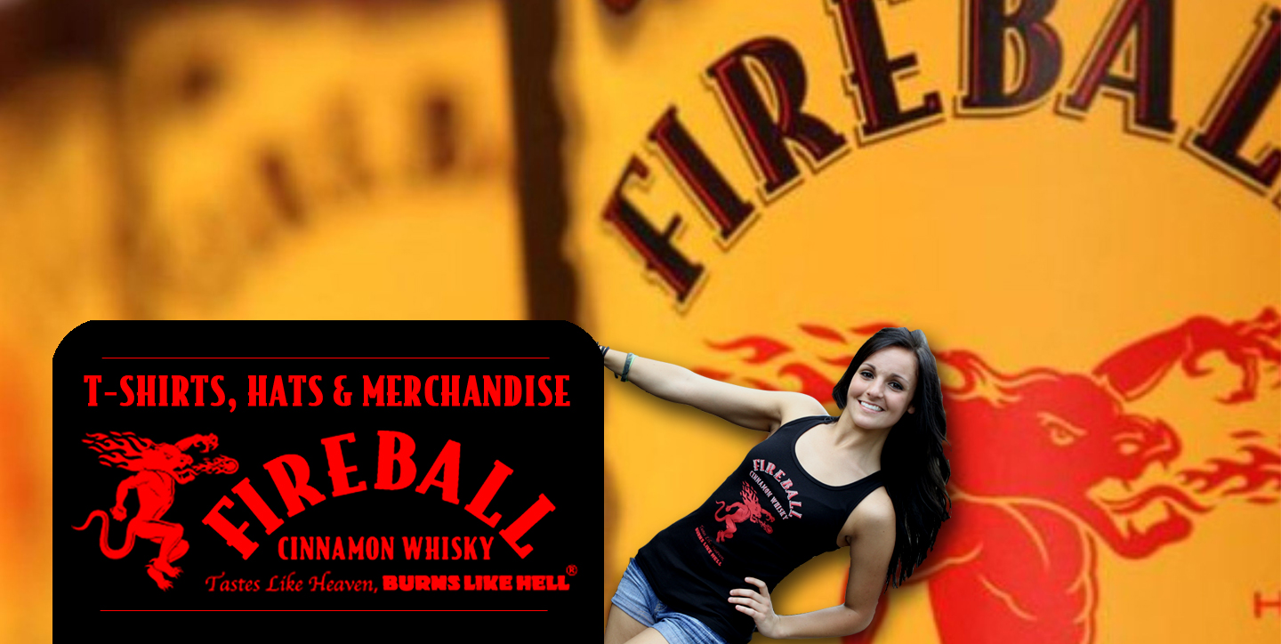 Fireball Whisky Merchandise
